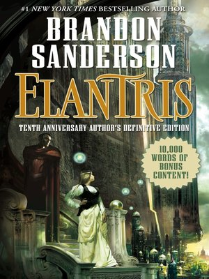 cover image of Elantris